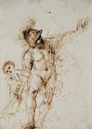 Disegno di Giovan Battista Barbieri detto il Guercino