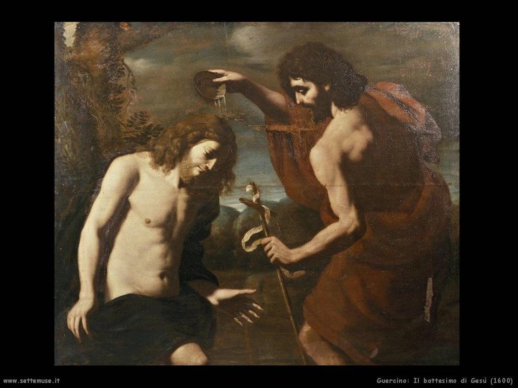 Il battesimo di Gesù (1600)