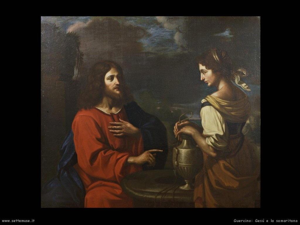 Gesù e la samaritana