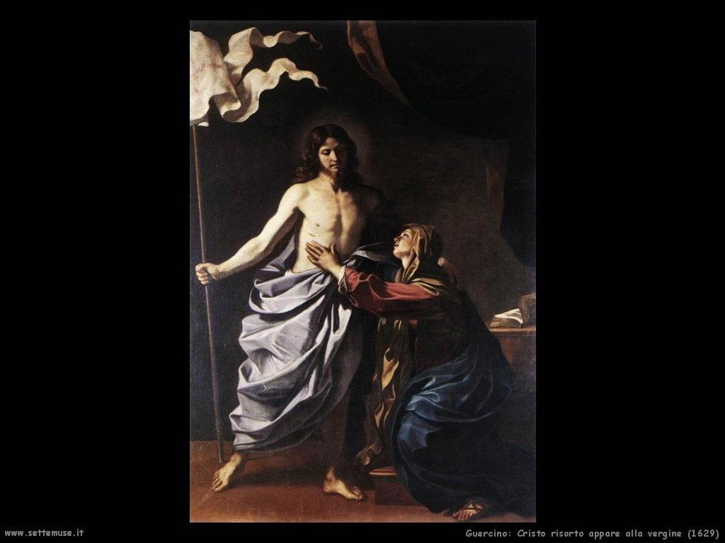 Cristo risorto appare alla Vergine (1629)