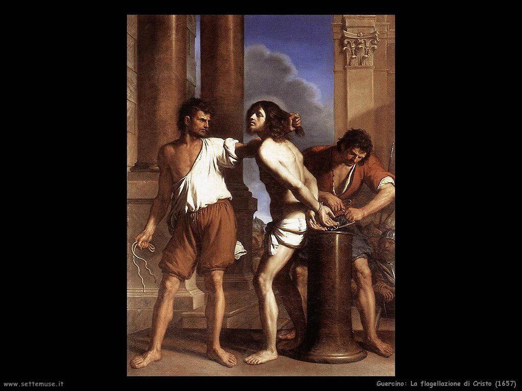 guercino Flagellazione di Cristo (1657)