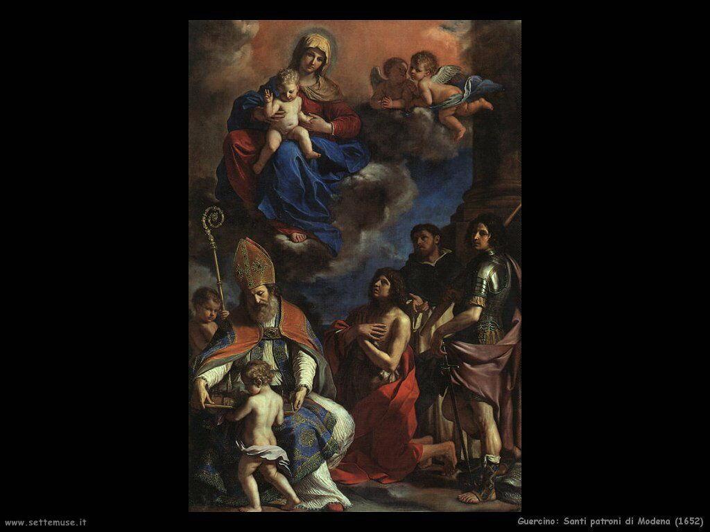 Santi patroni di Modena (1652)