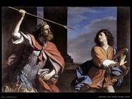 Saul attacca Davide (1646)