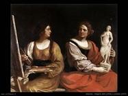 Allegoria della pittura e scultura (1637)