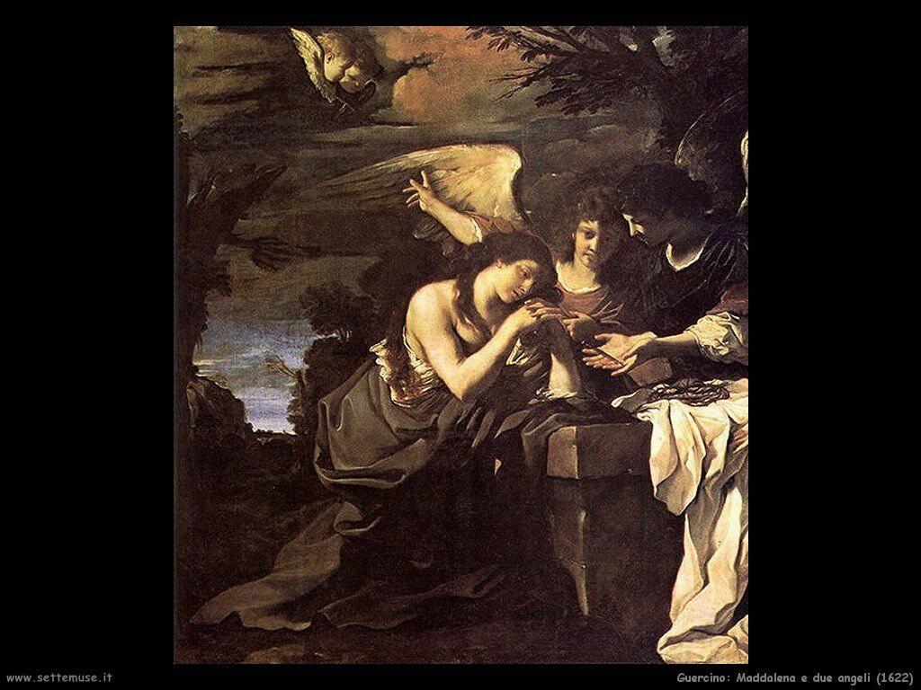 Maddalena e due angeli (1622)