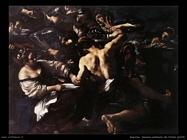 guercino Sansone catturato dai filistei (1619)
