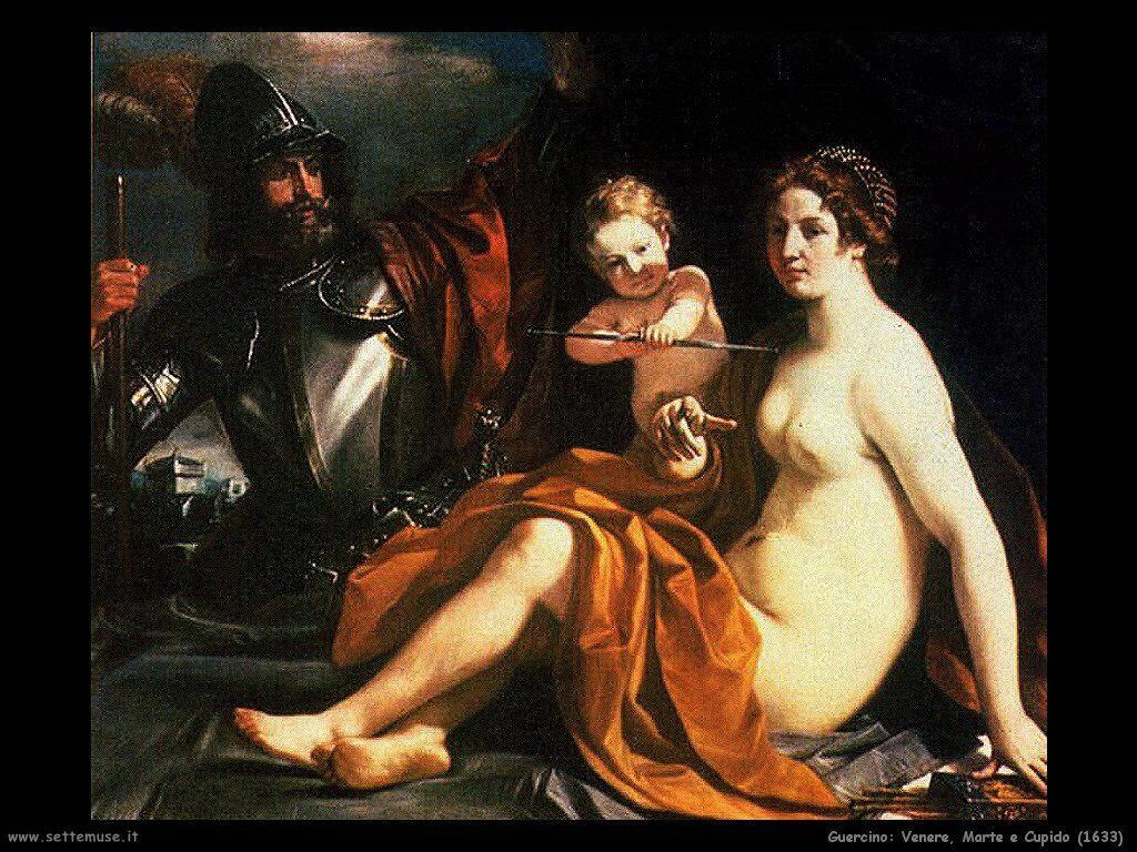 Venere Marte e Cupido (1633)