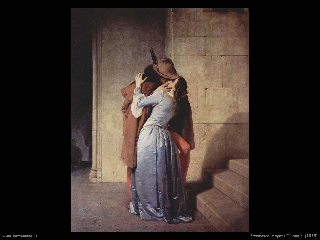 Francesco Hayez Il bacio (1859)