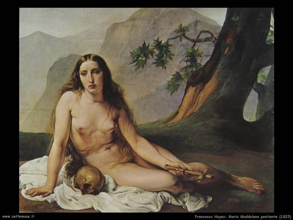 Francesco Hayez Maria Maddalena penitente (1825)
