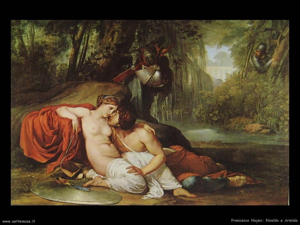 Francesco Hayez Rinaldo e Armida (1813)