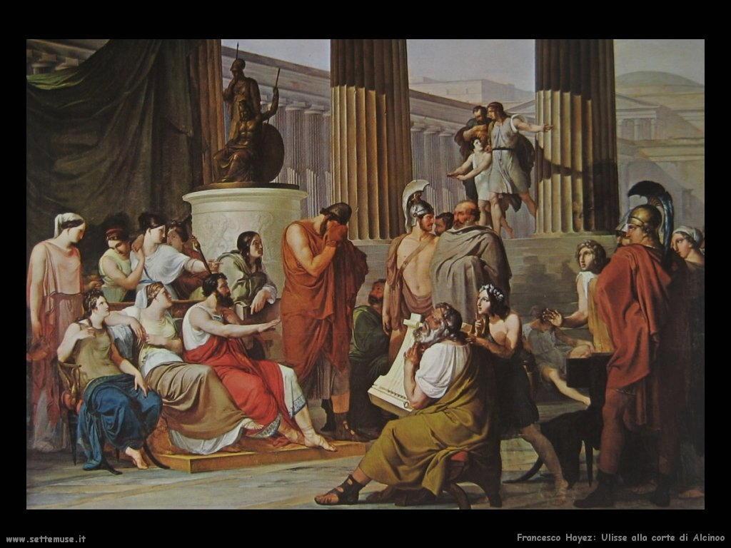 francesco_hayez ulisse_alla_corte_di_alcinoo 1815