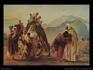 Francesco Hayez Incontro tra Giacobbe e Esaù (1844)