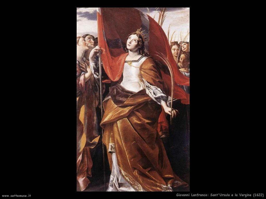 giovanni lanfranco Sant'Ursula e la Vergine (1622)
