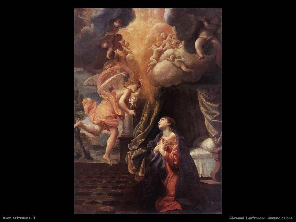giovanni lanfranco Annunciazione