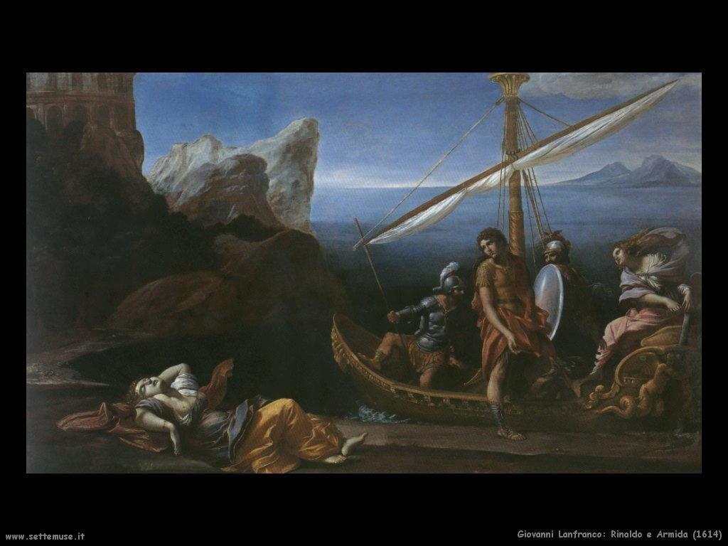 giovanni lanfranco Rinaldo e Armida (1614)