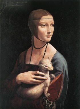 Biografia Leonardo da Vinci, Dama con l'ermellino