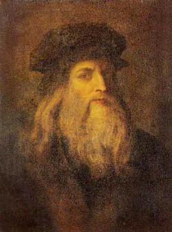 Ritratto e biografia di Leonardo da Vinci