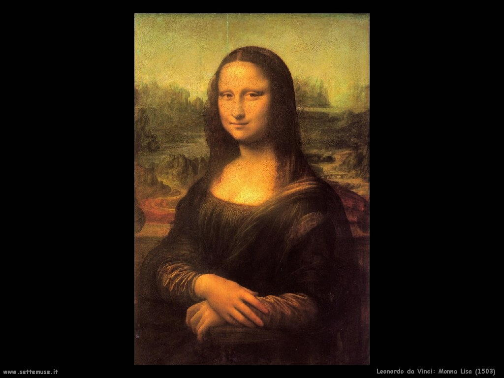 Descrizione dipinto di Leonardo da VInci La Gioconda