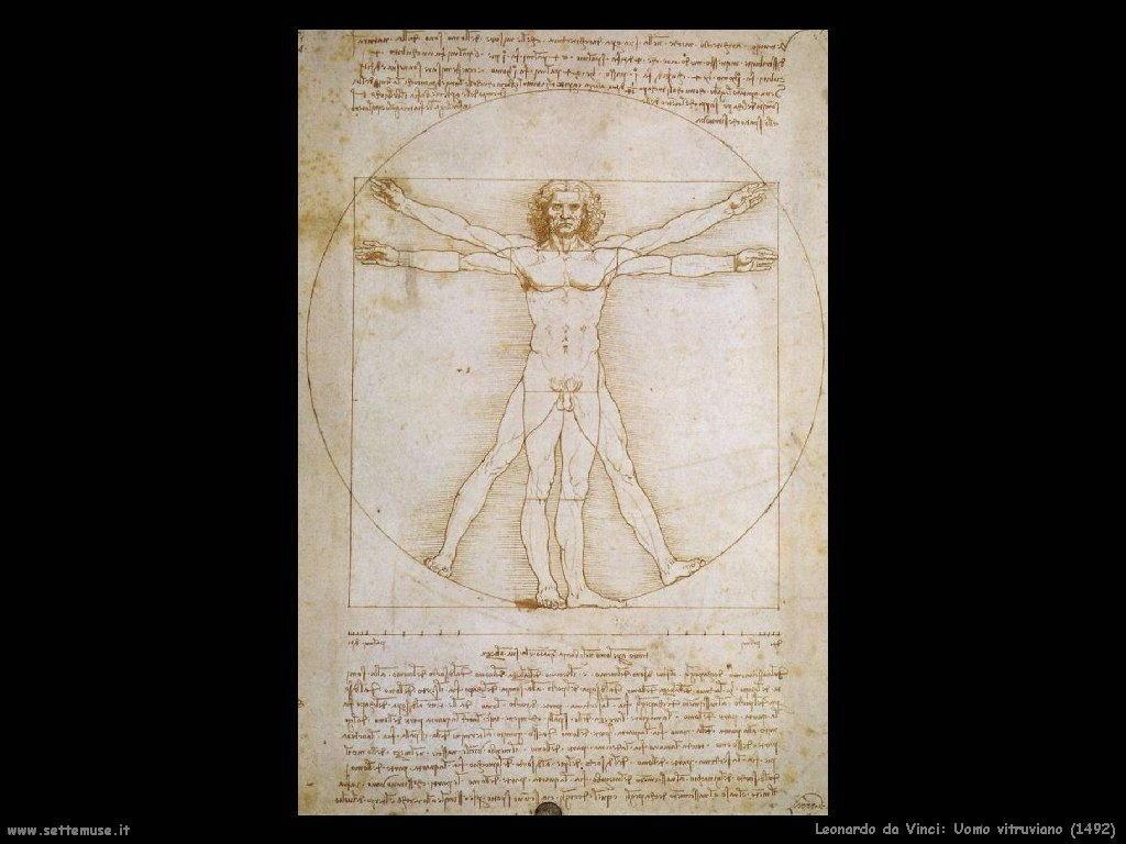 Uomo vitruviano (1492)