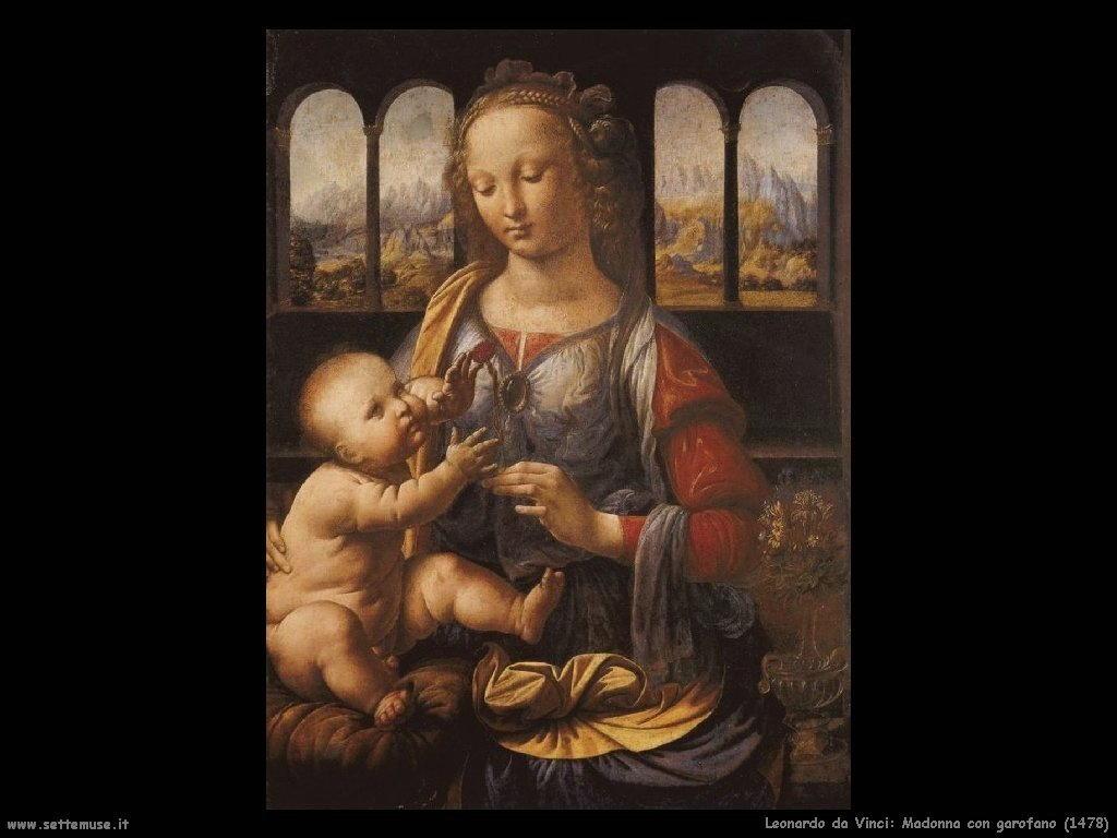 Madonna con garofano (1478)