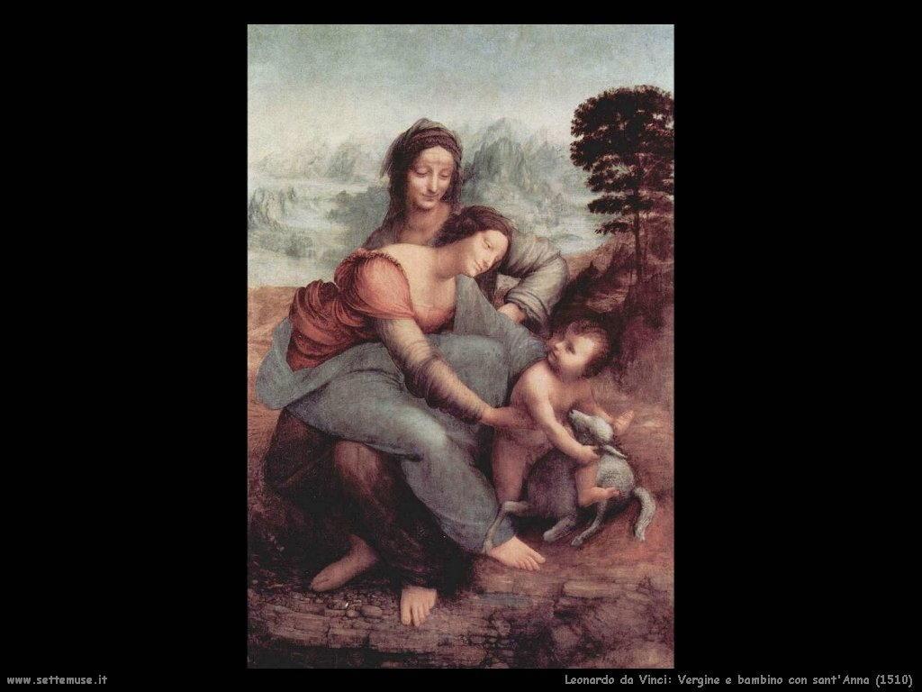 Vergine e bambino con sant'Anna (1510)