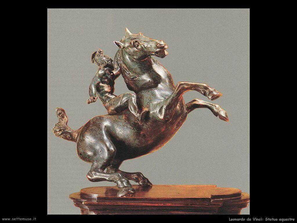 da vinci statua equestre