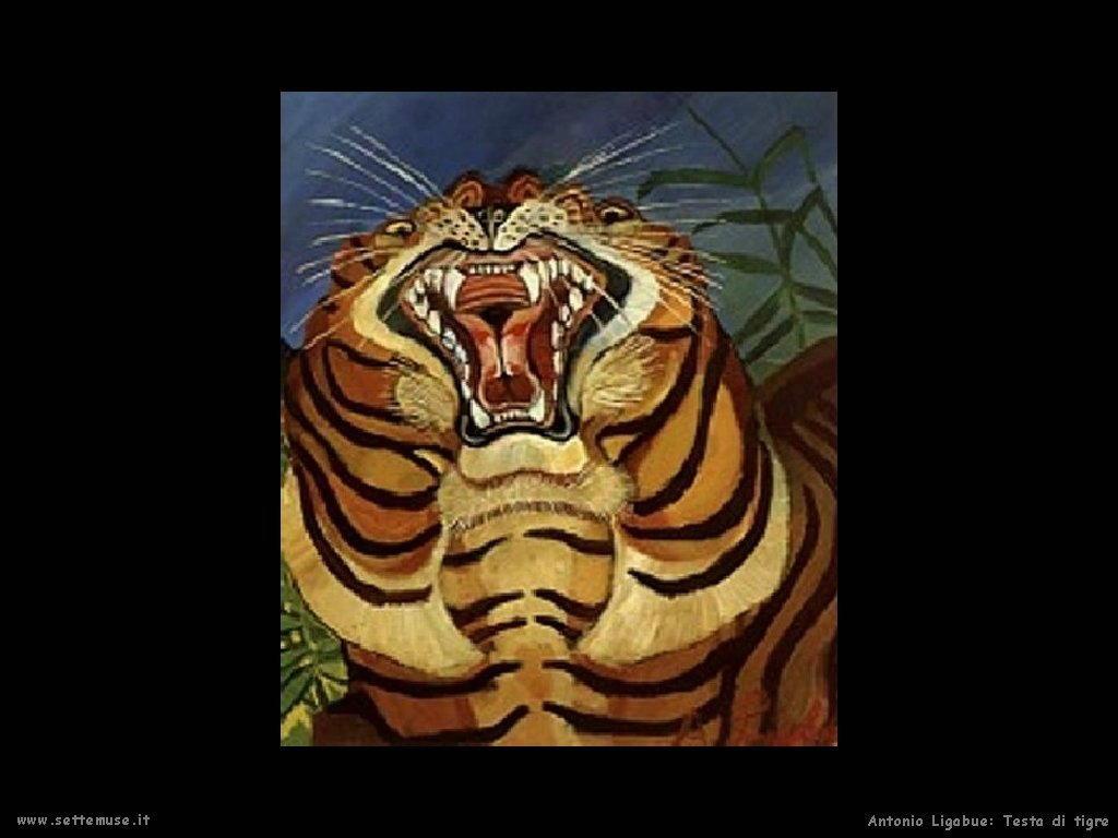 La tigre  (dettaglio)