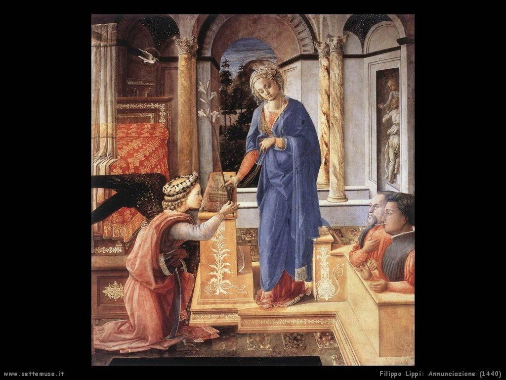 filippo lippi Annunciazione (1440)