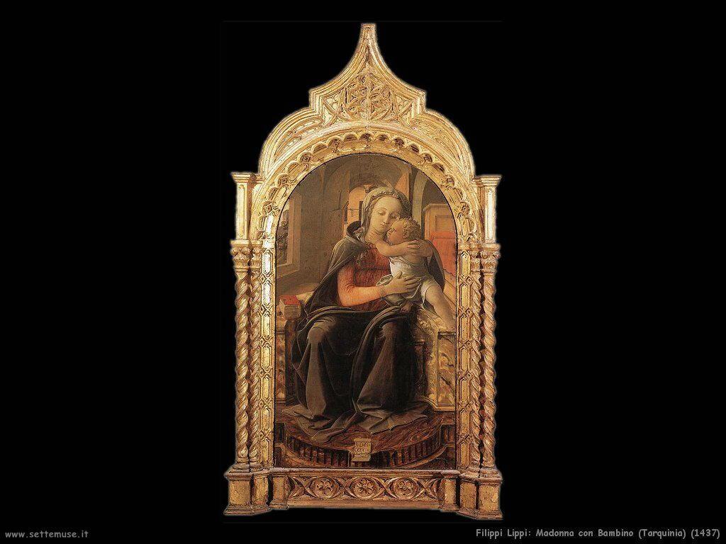 Madonna con Bambino Tarquinia (1437)