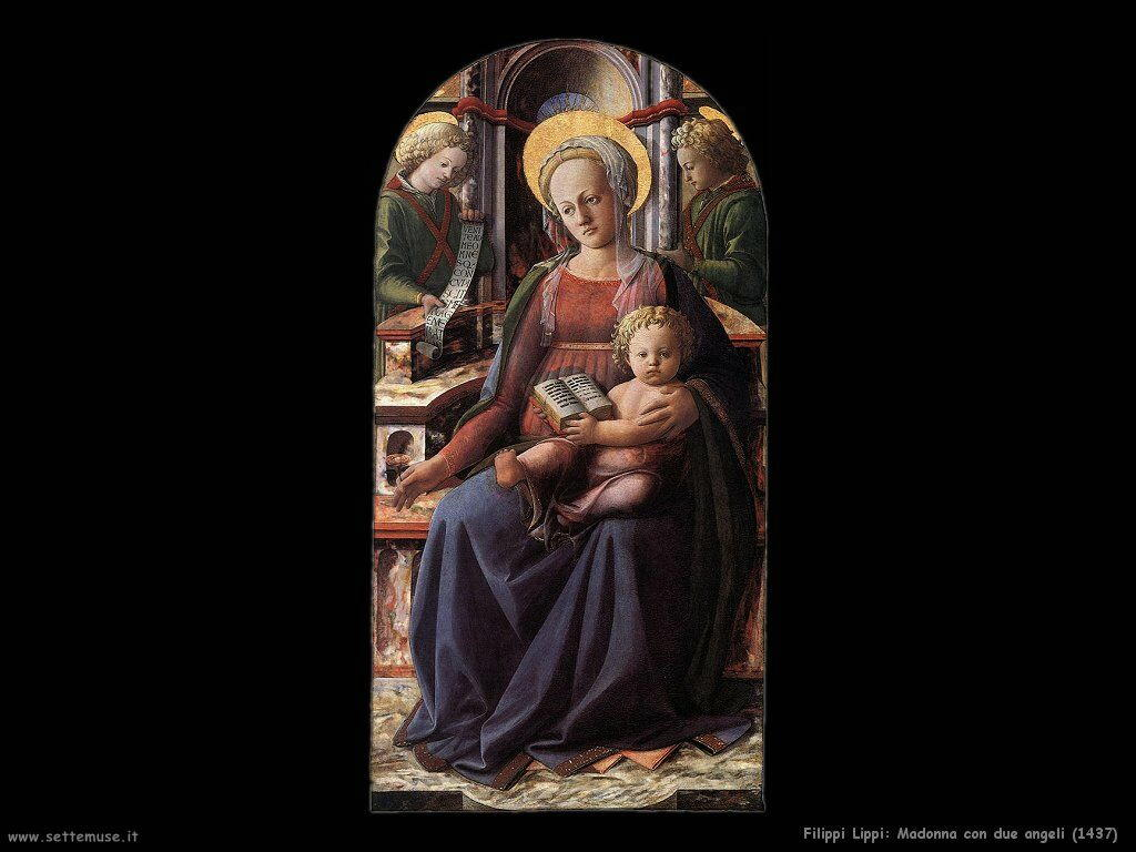 Madonna con due angeli (1437)