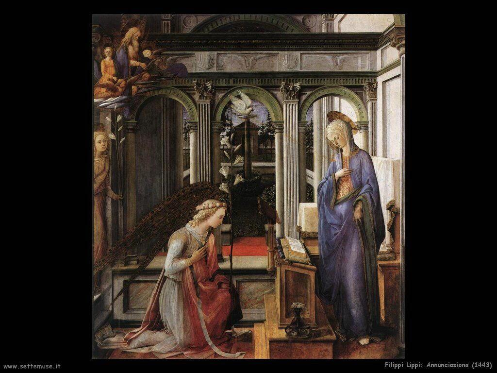 filippo lippi Annunciazione (1443)