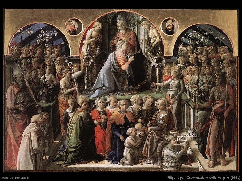 filippo lippi Incoronazione della Vergine (1441)