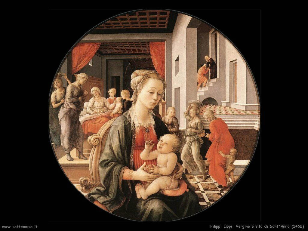 Vergine e vita di sant'Anna (1452)