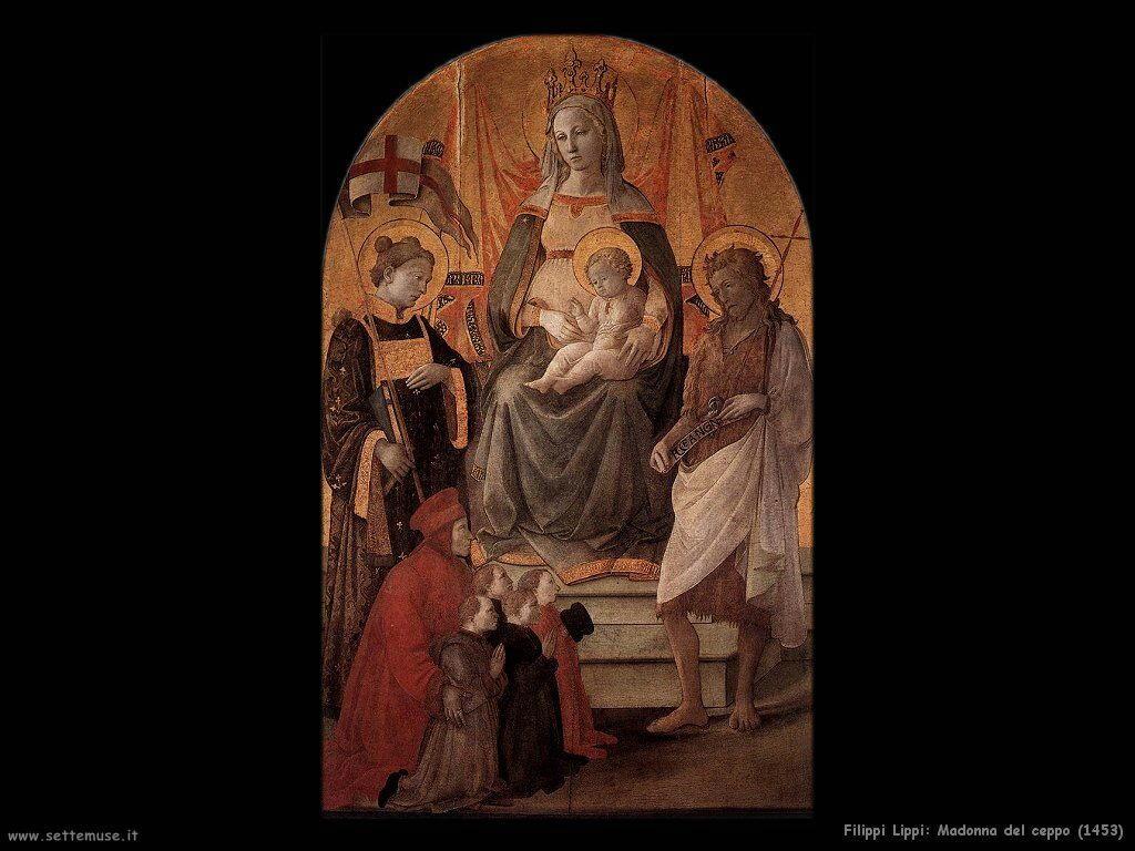 filippo lippi Madonna del ceppo (1453)