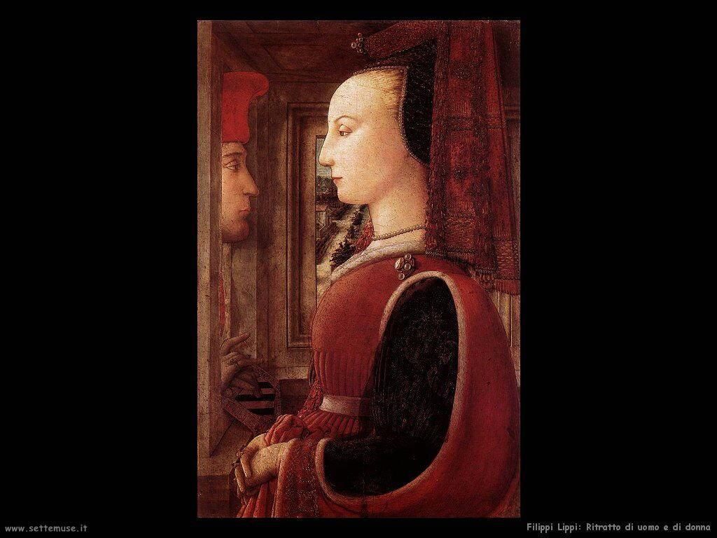 Ritratto di un uomo e una donna