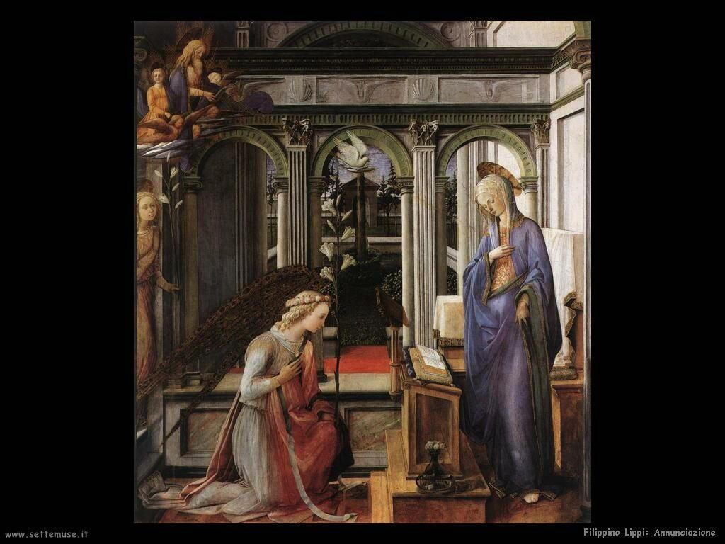Filippino Lippi annunciazione