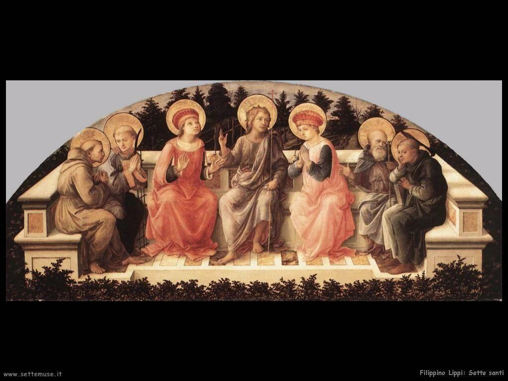 Filippino Lippi sette santi