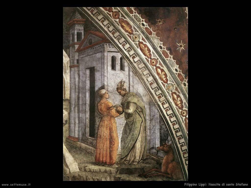 Filippino Lippi nascita di santo stefano