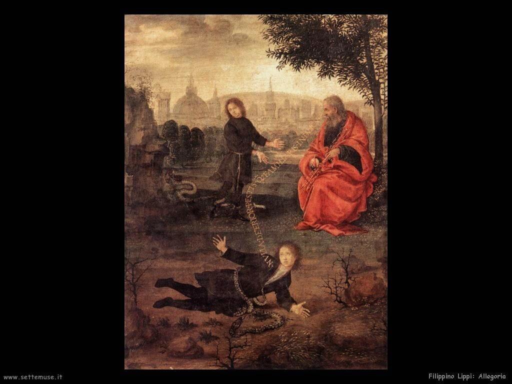 Filippino Lippi allegoria