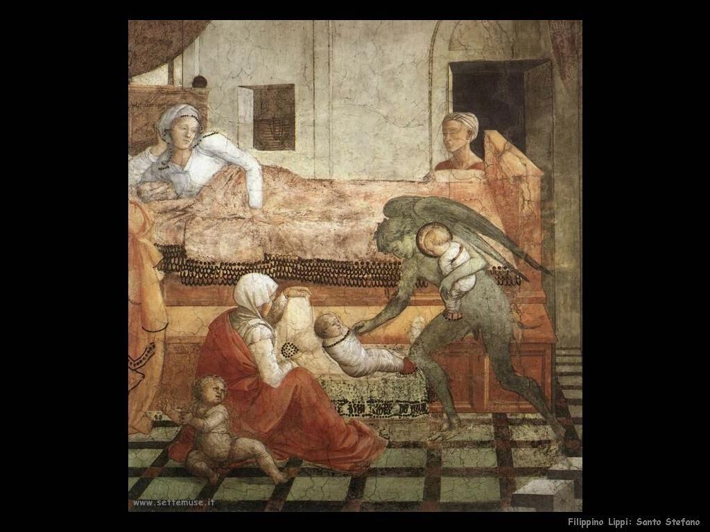 Filippino Lippi santo stefano