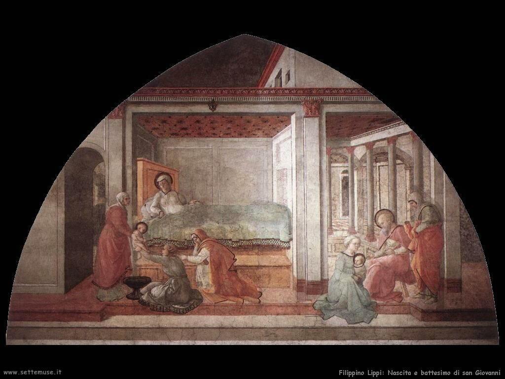 Filippino Lippi nascita san giovanni
