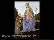 Filippino Lippi madonna con bambino e santantonio 1480