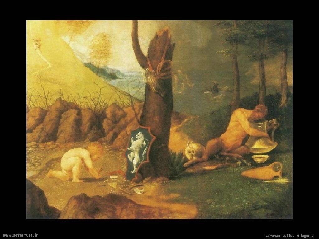 Allegoria (1505) dettaglio