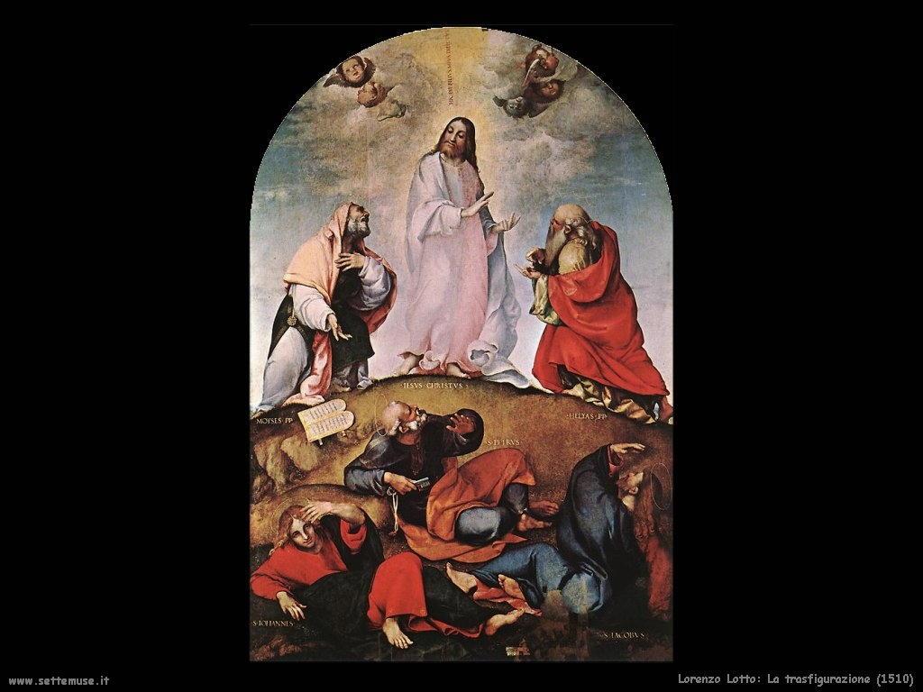 Lorenzo Lotto La trasfigurazione (1510)