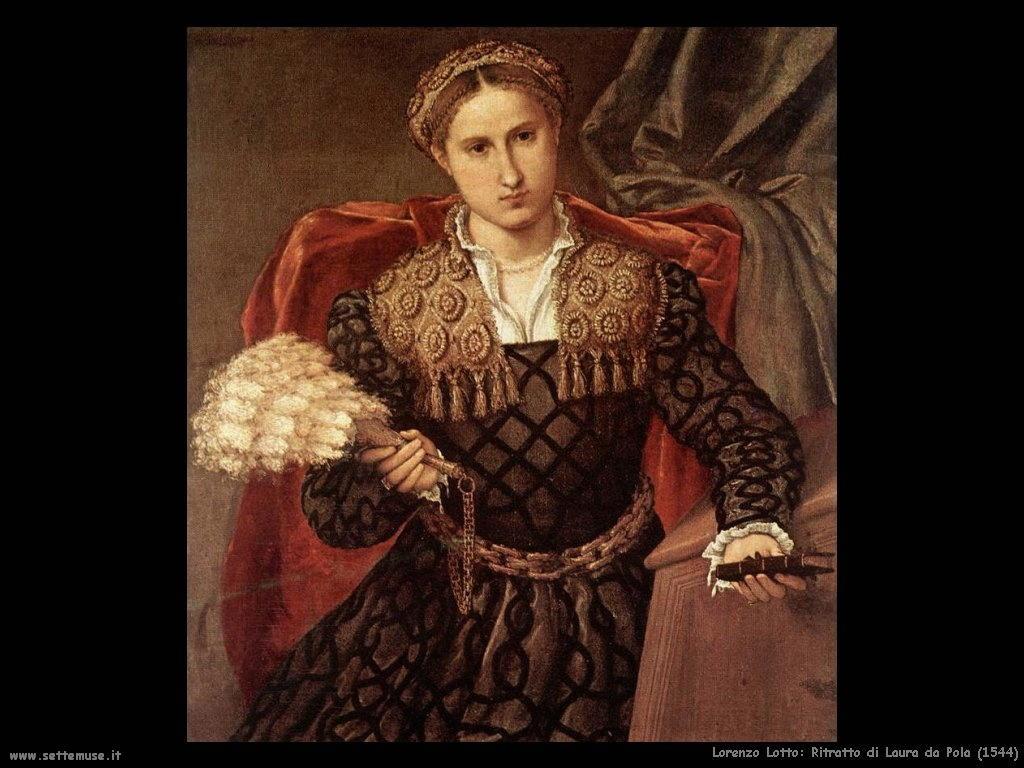 Ritratto di Laura da Pola (1544)