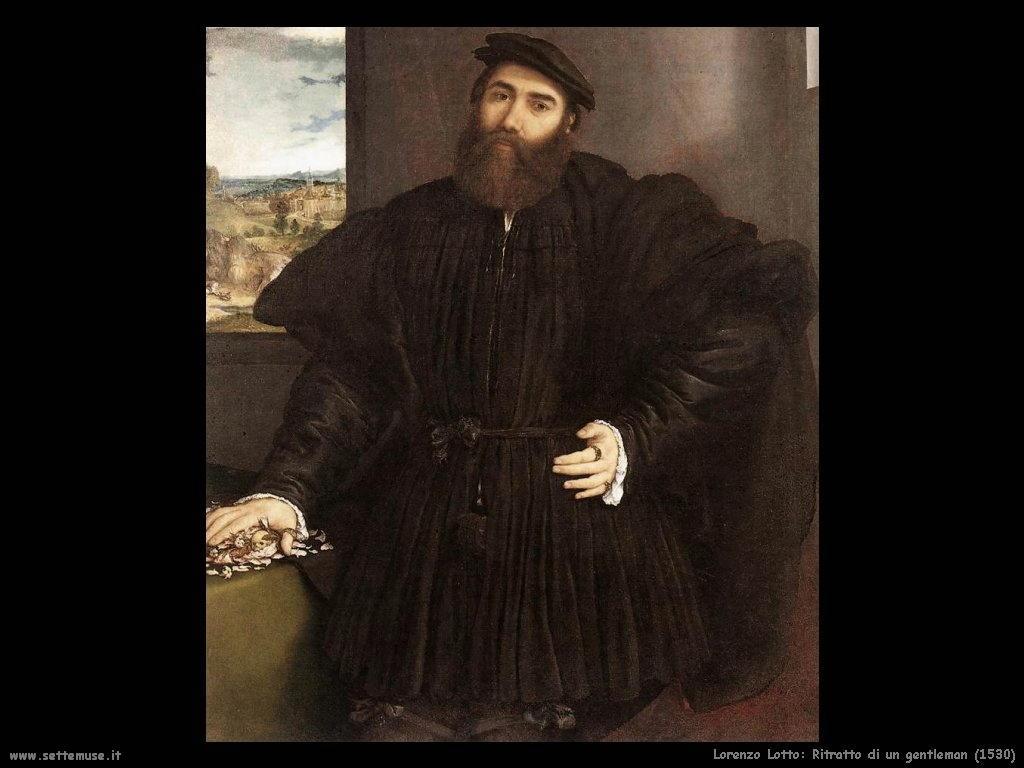 Ritratto di un gentleman (1530)