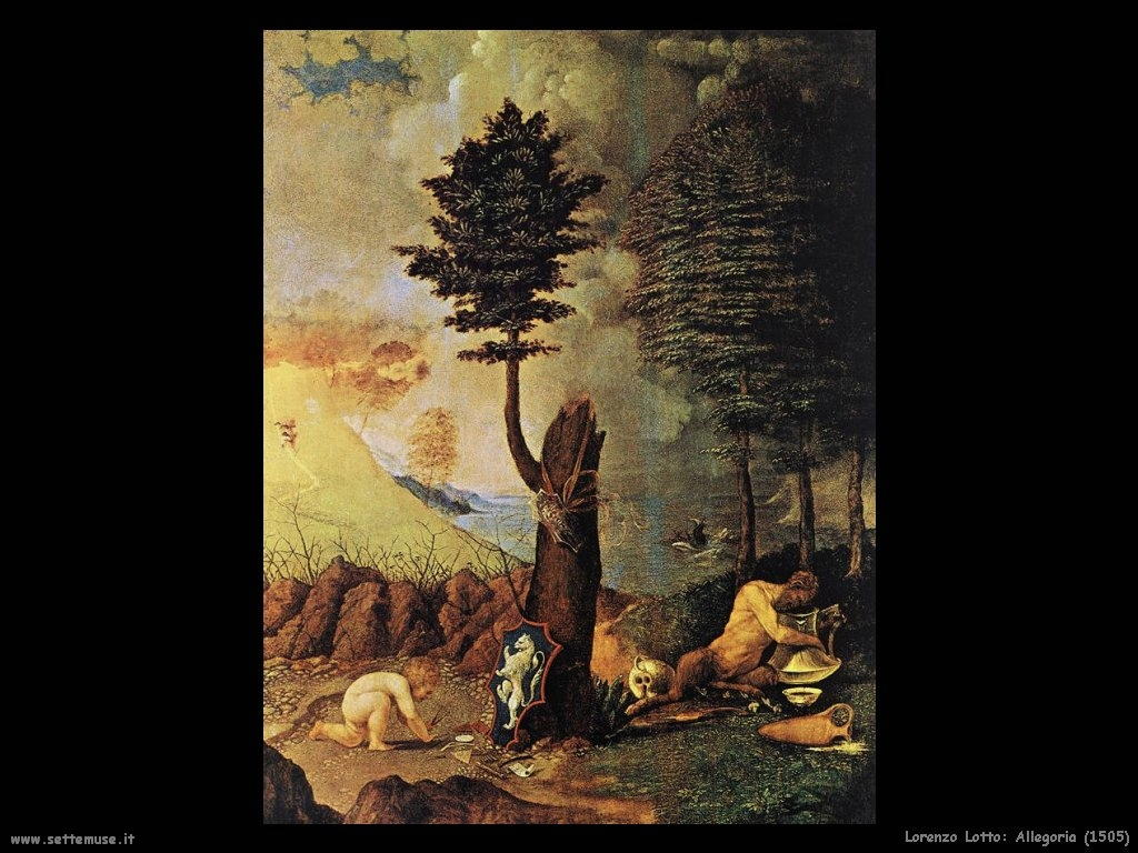 Lorenzo Lotto Allegoria (1505)