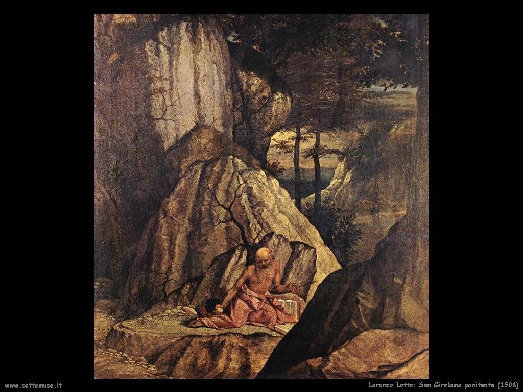 San Girolamo penitente (1506)