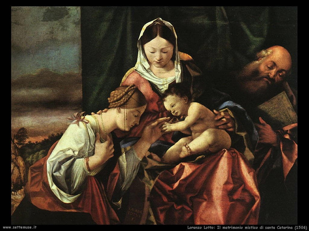 Matrimonio mistico di santa Caterina (1506)