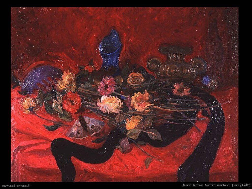 mario mafai Natura morta di fiori (1942)